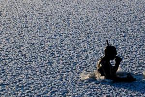 Под поверхностью льда