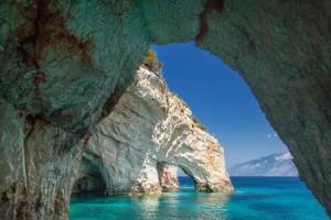 Греция - Голубые пещеры Закинфа