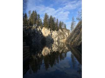Поездка на Мраморный карьер Карелия 26.10.2018